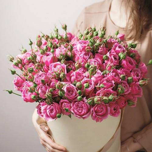 Аранжировка от малки рози